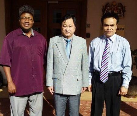 With the ambassodor of Malaysia