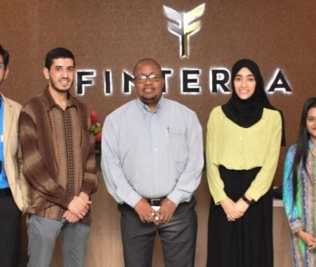 At Finterra for the financial technology concepts.