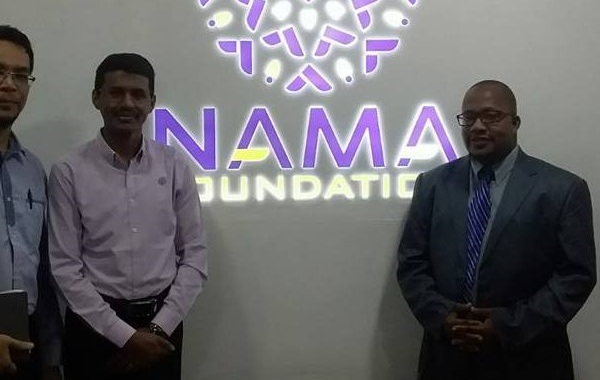 The Nama Foundation collaboration with the AFECoD Founder.